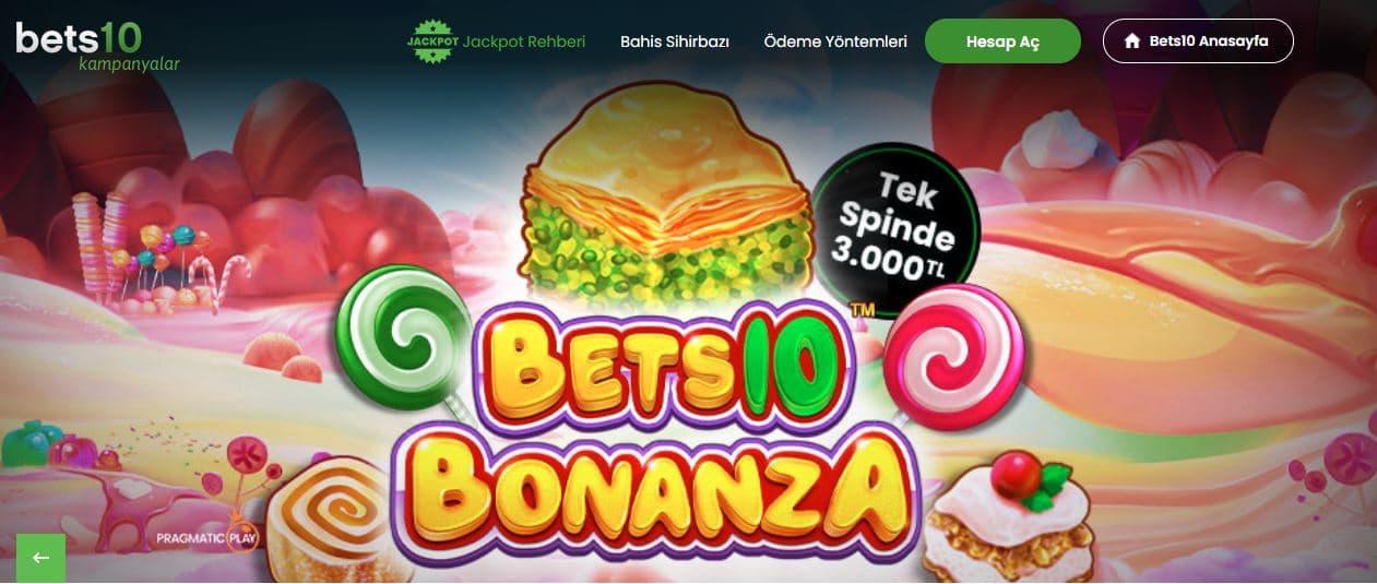 bets10 bonanza oyna